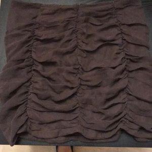 Dresses & Skirts - Brand new Ruched gathered mini skirt